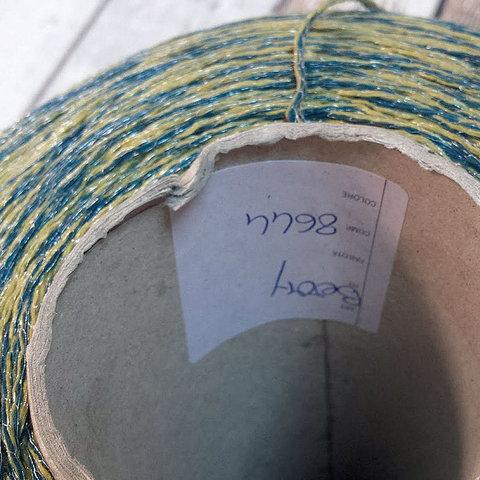Смесовка со льном Casa Del Filato / BERRY 320 желто-зеленый