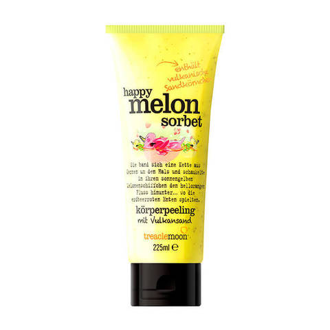 Treaclemoon Скраб для тела Дынный сорбет/ Happy melon sorbet  Body scrub, 225 мл