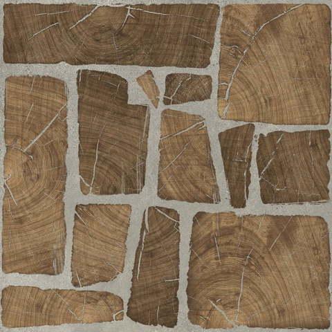 Керамогранит CERSANIT Woodland 420x420 коричневый WL4R112