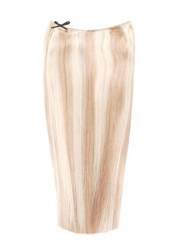 Светлые мелированные накладные волосы