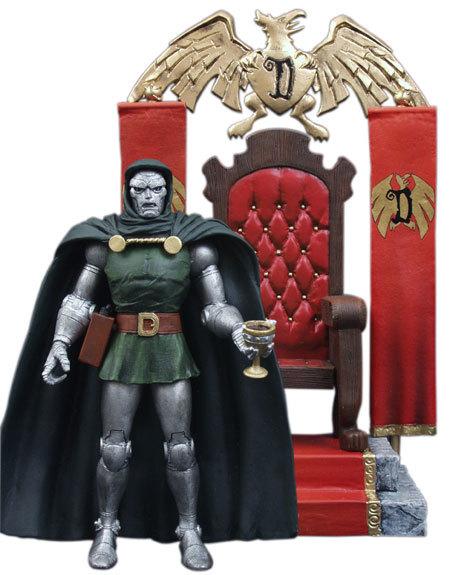 Марвел Селект фигурка Доктор Дум — Marvel Select Dr. Doom Fantastic 4