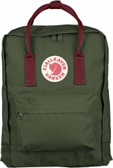 Рюкзак Fjallraven Kanken Classic Forest Green/Ox Red