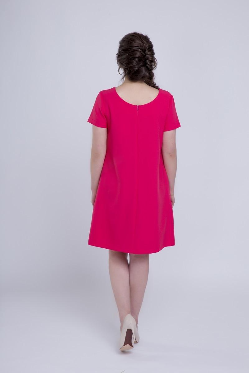 Фото платье для беременных Mama i Ja от магазина СкороМама, малиновый, розовый, размеры.