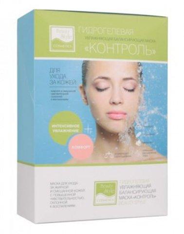 Гидрогелевая увлажняющая балансирующая маска для смешанной и жирной кожи