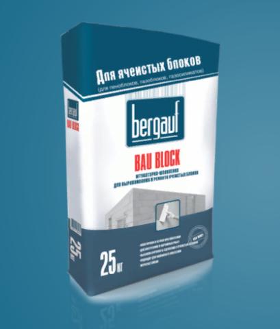 Штукатурка-шпаклевка Бергауф Бау Блок 25 кг