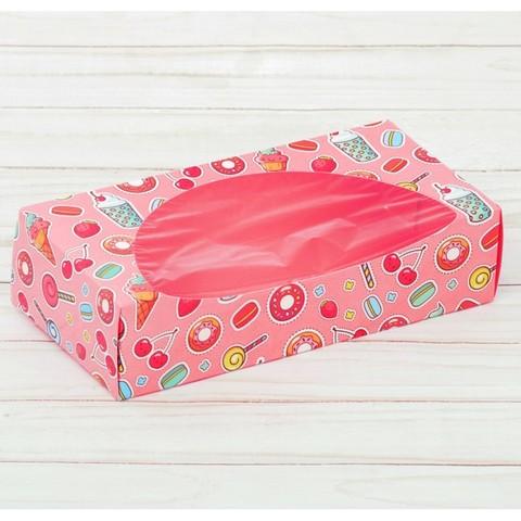 Коробка для сладкого, 10*20*5 см
