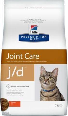 6135M ХИЛЛc ДИЕТА сух.д/кошек J/D лечение заболеваний суставов 2кг*6