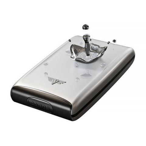Кошелек-органайзер c защитой Tru Virtu Ray, светло-бежевый , 130x102x23 мм