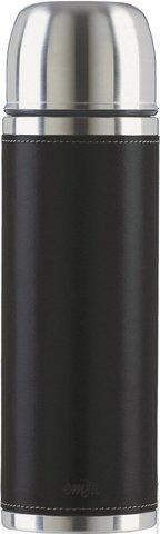 Термос Emsa Senator Class (1 литр), черная кожа