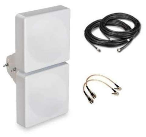 Комплект усиления LTE сигнала для модема LTE-SET-MIMO Мультидиапазон