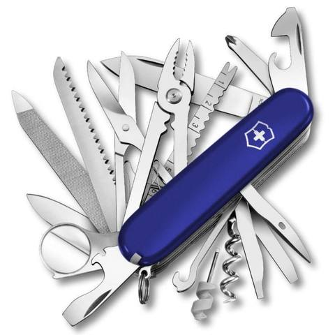 Нож Victorinox SwissChamp, 91 мм, 33 функции, синий