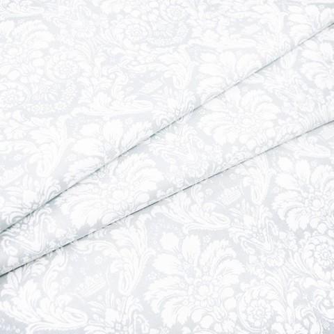 Поплин 220 см 115 г/м2 391/26 Дамаск цвет светло-серый