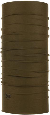 Бандана-труба летняя с защитой от насекомых Buff CoolNet Insect Shield Solid Military фото 1
