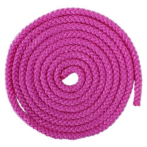 Скакалка гимнастическая 3м розовая  AB251