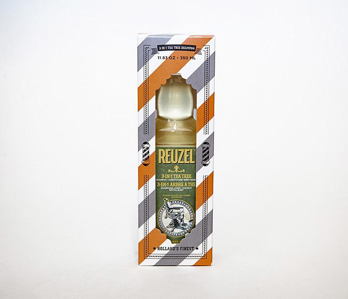 CARE169 Мужской шампунь REUZEL 3 в 1 с маслом чайного дерева (350 мл) фото 02