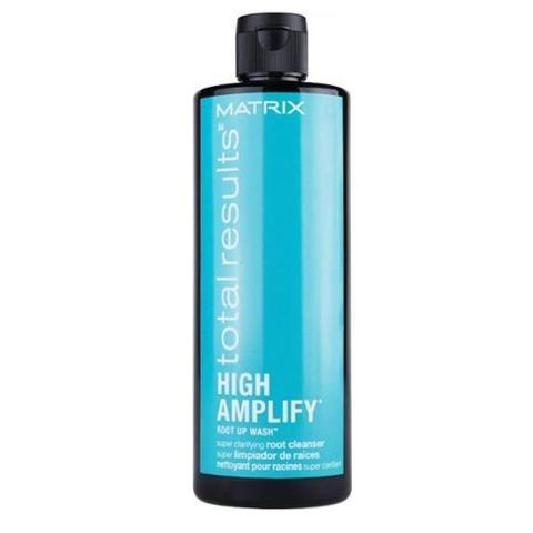 Matrix Total Results High Amplify: Шампунь  интенсивного очищения волос (Root Up Wash Shampoo), 400мл