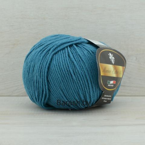 Пряжа Merino Extra 145 (Мерино экстра 145) Темно-бирюзовый