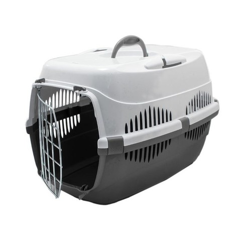 Спутник-ZooM переноска для животных с металлической дверцей (до 12кг) 33*49*32см