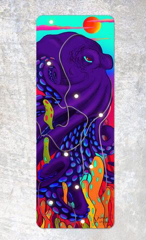 Коврик для йоги Octopus YY 178*61*0,2-0,35 см из микрофибры и каучука
