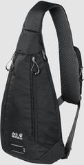 Рюкзак однолямочный Jack Wolfskin Delta Bag Air black