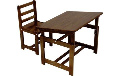 Комплект детской мебели Фея Растем вместе, табачный дуб
