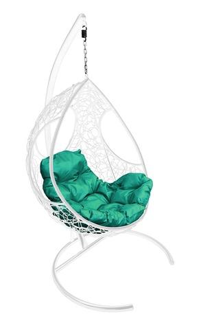 Кресло подвесное Ferrol white/green
