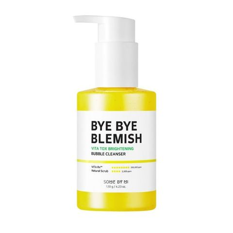 Some by mi  Bye Bye Blemish Vita Tox Brightening Bubble Cleanser Осветляющая маска-пенка