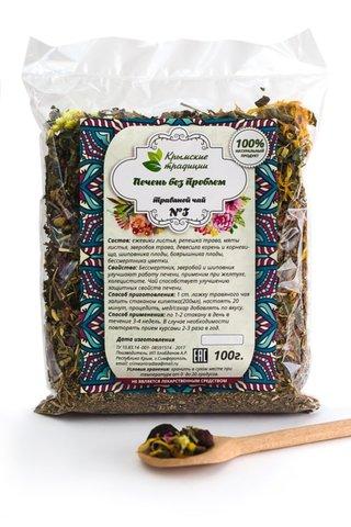 Крымский травяной сбор «Печень без проблем»™Крымские традиции