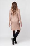 Платье для беременных 05895 бежевый