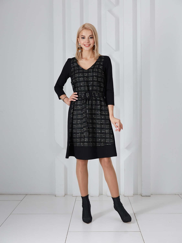 Платье plt-51695f/черный