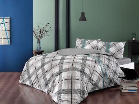 Комплект постельного белья Ранфорс 1,5-спальный