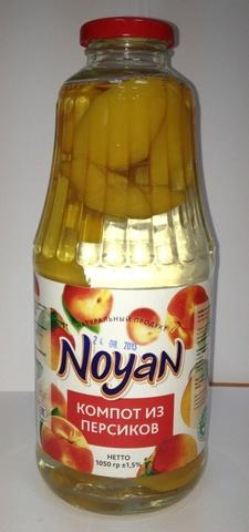 Компот из персика Noyan, 1л