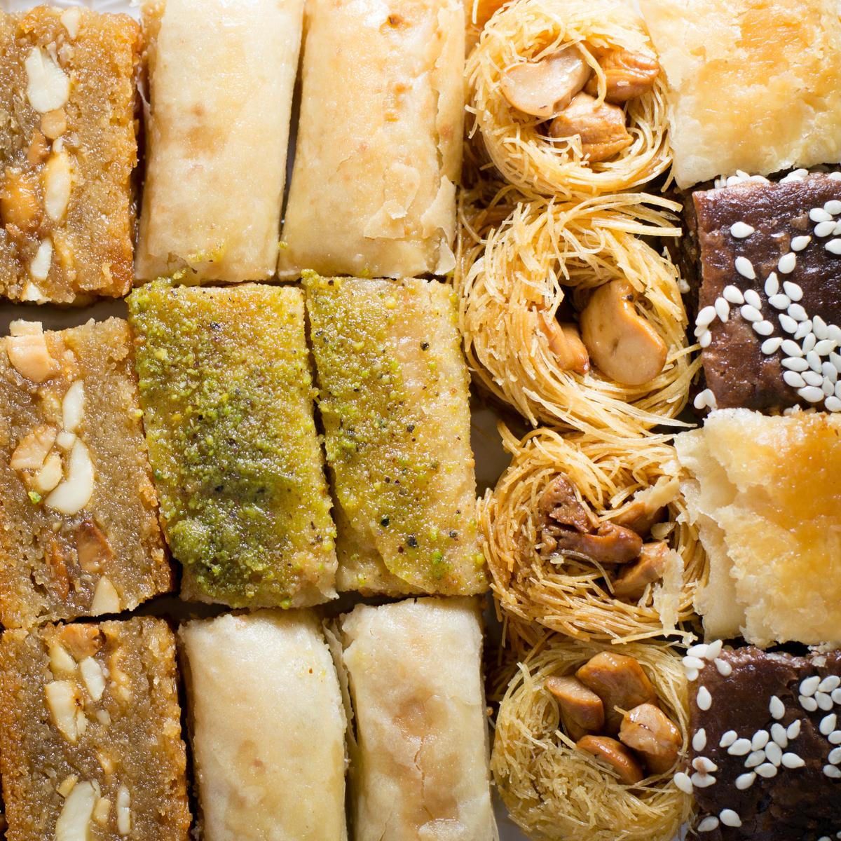 """Pate D'or Пахлава - ассорти ливанских сладостей """"Оронт"""", 600 г import_files_6f_6f5dd39b787e11e799f3606c664b1de1_2456a41c2e9411e8a993484d7ecee297.jpg"""
