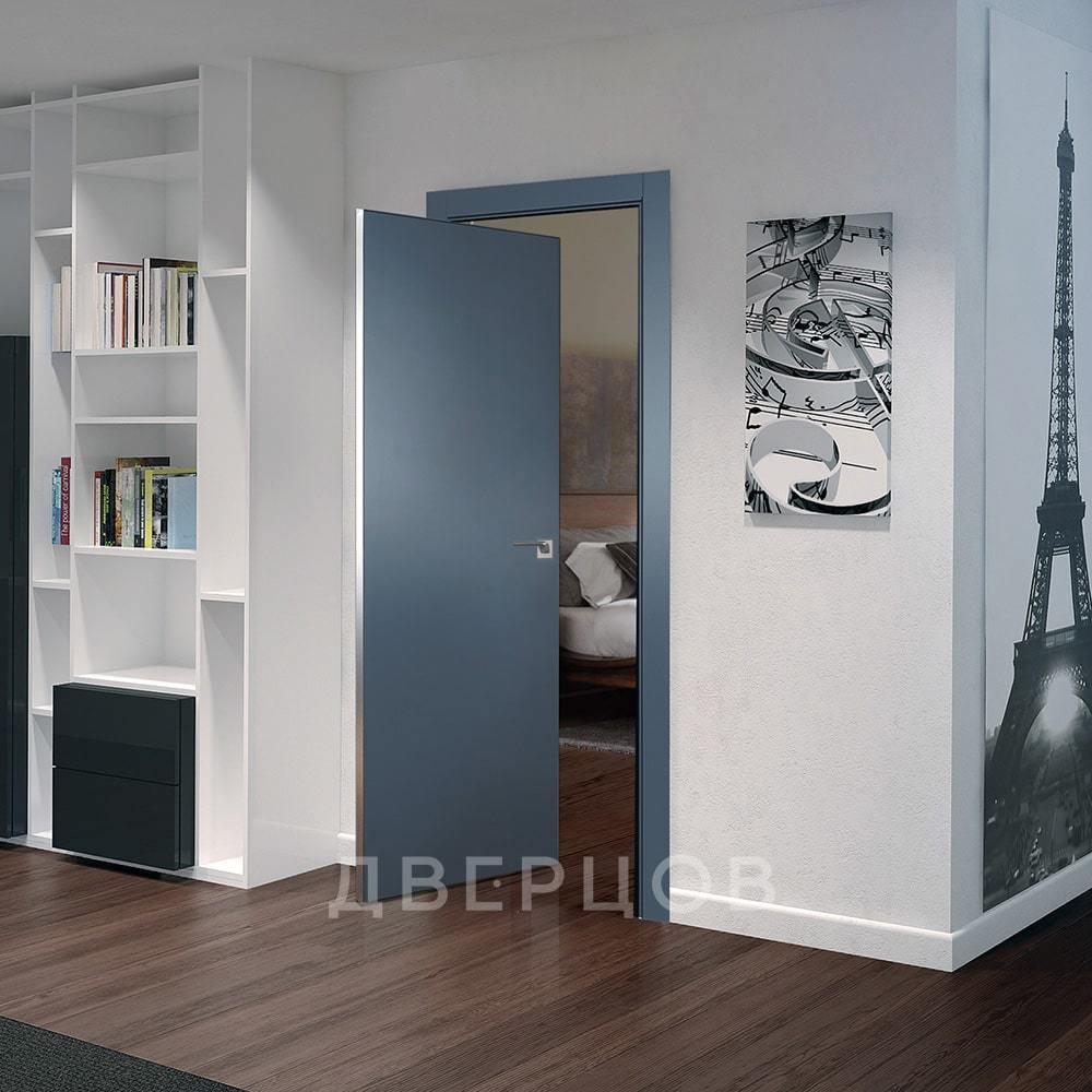 Системы открывания Рото дверь 1E антрацит алюминиевая матовая кромка с 4-х сторон 1E-antracit-dvertsov.jpg