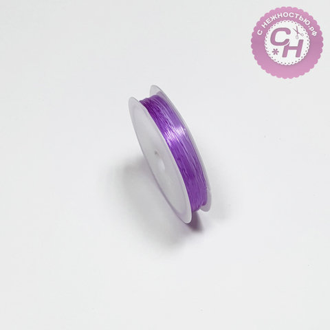 Резинка силиконовая круглая, 0,6 мм, 12 м.