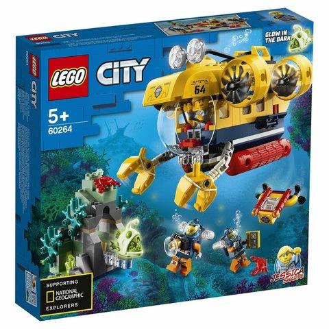 Lego konstruktor  Ocean Exploration Submarine