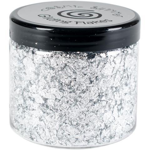 Поталь в хлопьях  Creative Expressions -Gilding Flakes by Cosmic Shimmer-  Silver Moon