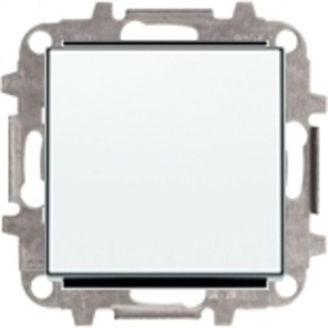Переключатель одноклавишный. Цвет Белый. ABB Sky. 8102+2CLA850100A1101