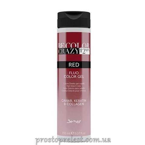Be Color Crazy 12 Minute Fluo Color Gel Red - Барвник прямої дії Червоний