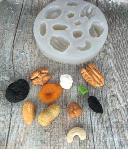 Молд «Сухофрукты и орехи»