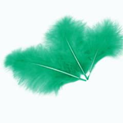 Перья Изумрудные, 10-15 см, 30 шт