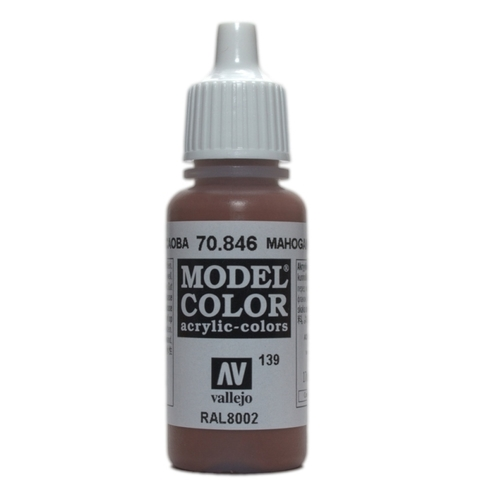 Model Color Mahogany Brown 17 ml.