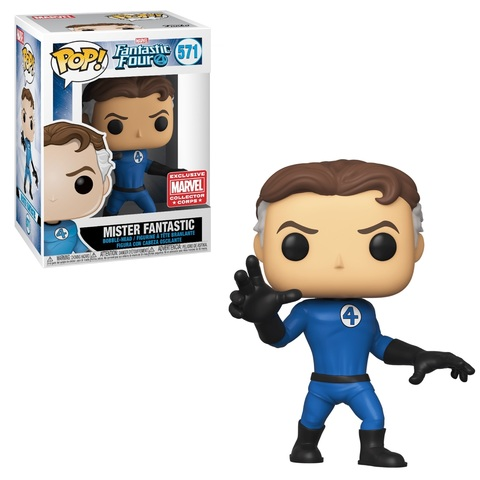 Фигурка Funko Pop! Marvel: Fantastic Four - Mister Fantastic (Excl. to Collector Corps)