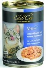 Edel Cat Консервы для кошек Edel Cat нежные кусочки в соусе, лосось, форель _file51ee2568b6fef_x150.jpg