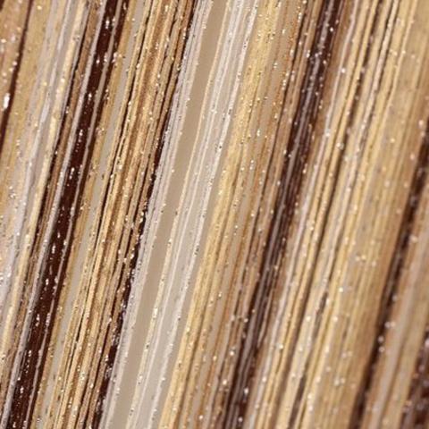 Шторы радуга дождь - Белые, беж, шампань, коричневые. Ш-300см., В-280см. Арт. 1-8-13-14