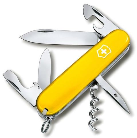 Нож Victorinox Spartan, 91 мм, 12 функций, желтый
