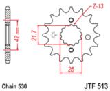 Звезда передняя ведущая Vortex 3521-18 JTF513