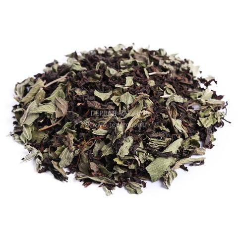 Чай черный с мятой, 100г