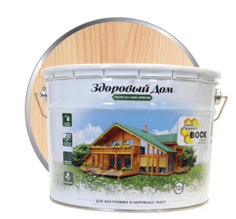Пропитка Здоровый Дом бесцветный 10 литров