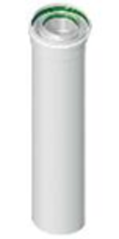 Труба коаксиальная Ø60/100 250 мм папа/мама